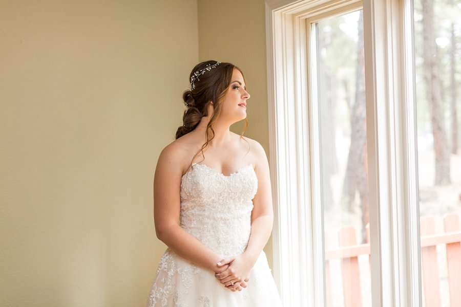 Brieanna and Nathan: Flagstaff Thornagers Wedding Photography 07