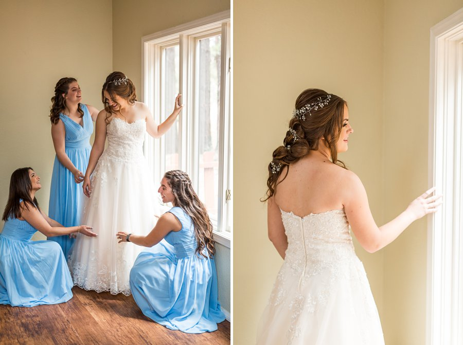 Brieanna and Nathan: Flagstaff Thornagers Wedding Photography 08