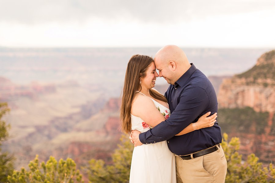 Emma and Dan - Grand Canyon National Park Engagement Photographer -9