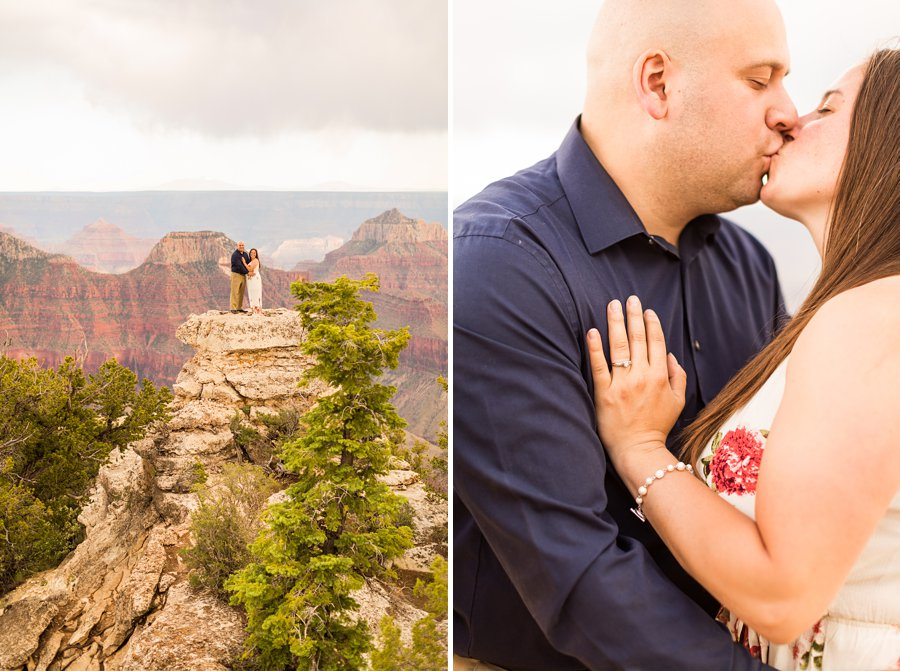 Northern Arizona Flagstaff Engagement Photographers: Emma and Dan
