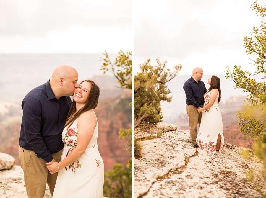 Emma and Dan - Grand Canyon National Park Engagement Photographer -2