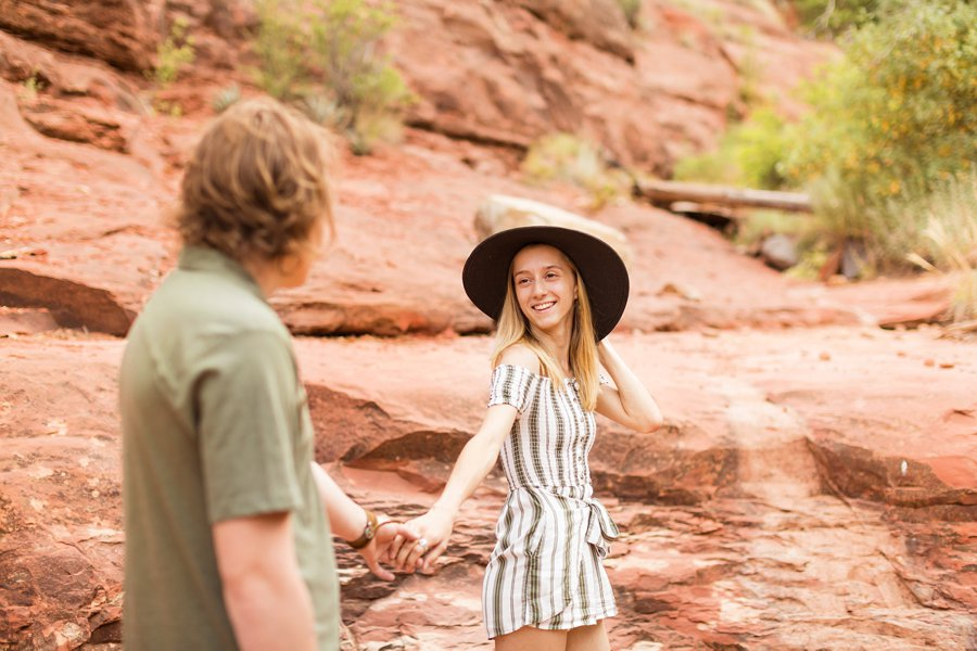 Oak Creek Sedona Portrait Photographer - Gabby and Spencer 88