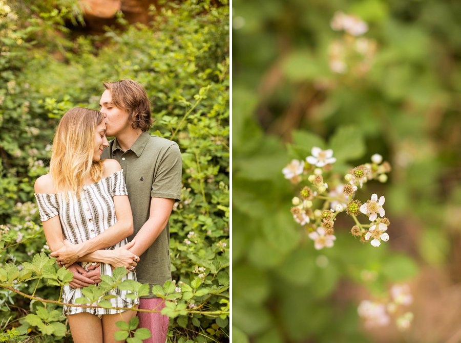 Oak Creek Sedona Portrait Photographer - Gabby and Spencer 2