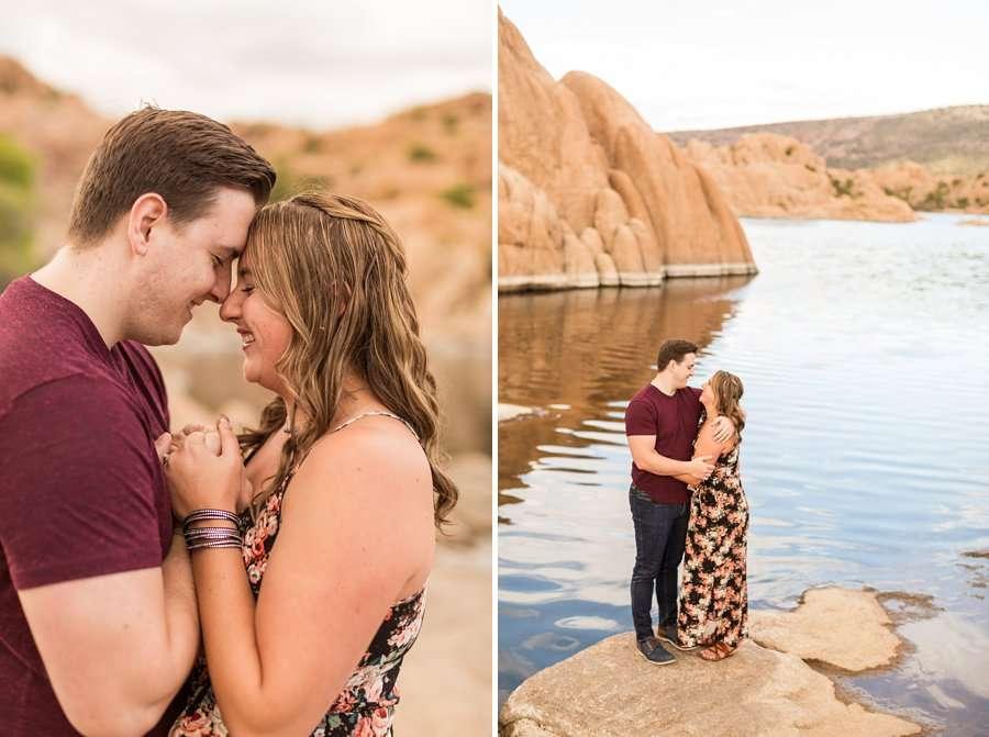 Jessie and Jonah - Prescott Arizona Engagement and Wedding Photographer 04