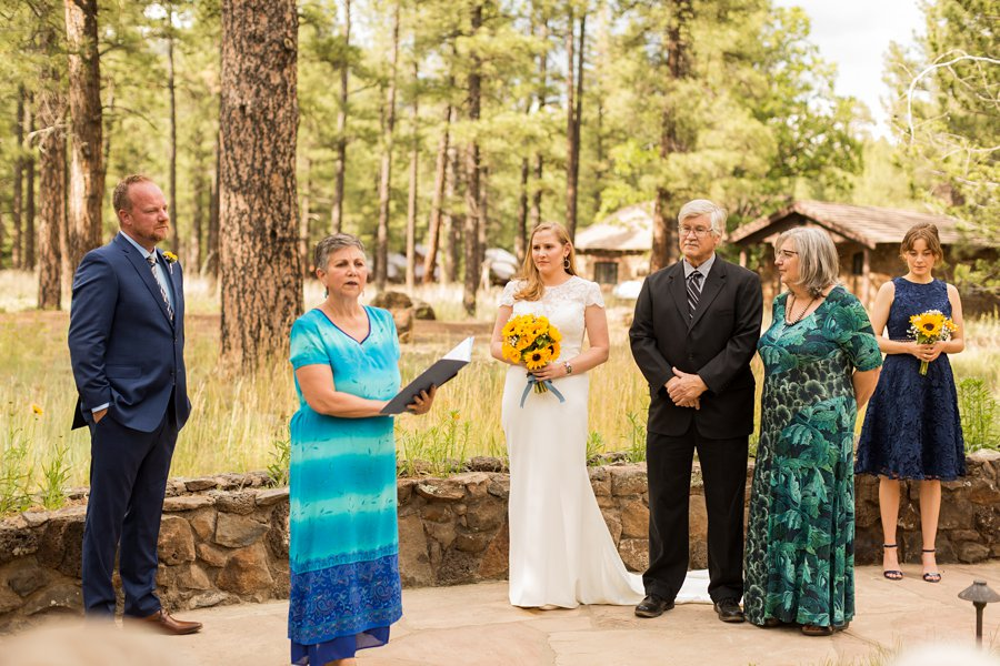 Jocelyn and Tyler: Colton House Flagstaff Wedding Photography