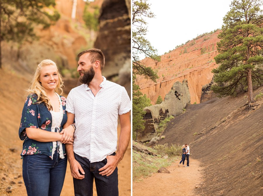 Kate and Matt - Northern Arizona Engagement Photographer 4