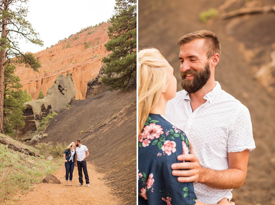 Kate and Matt - Northern Arizona Engagement Photographer 2
