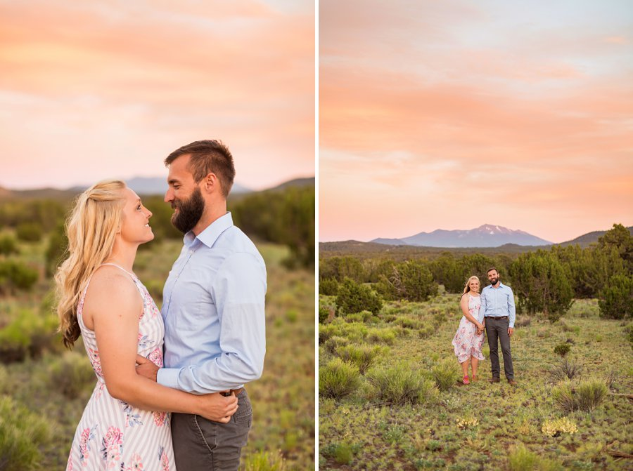 Kate and Matt - Flagstaff Couple Photography 18