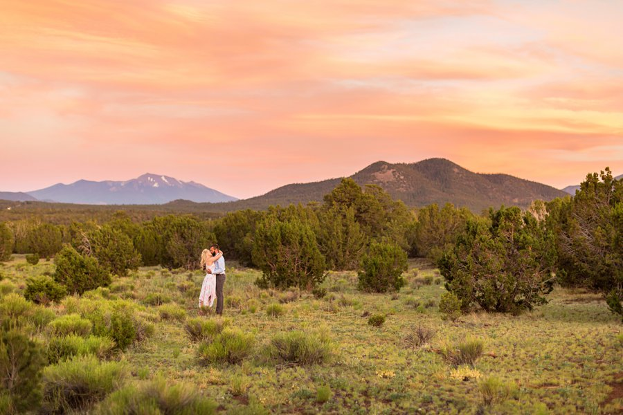 Kate and Matt - Northern Arizona Engagement Photographer 1