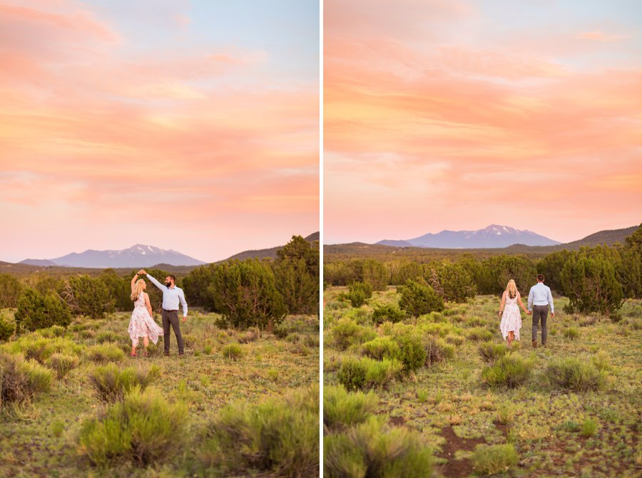 Kate and Matt - Flagstaff Couple Photography 19