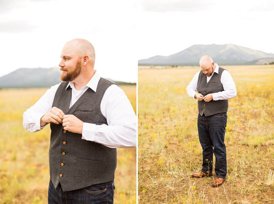 Katie and Mark - Northern Arizona Elopement Photography - 3