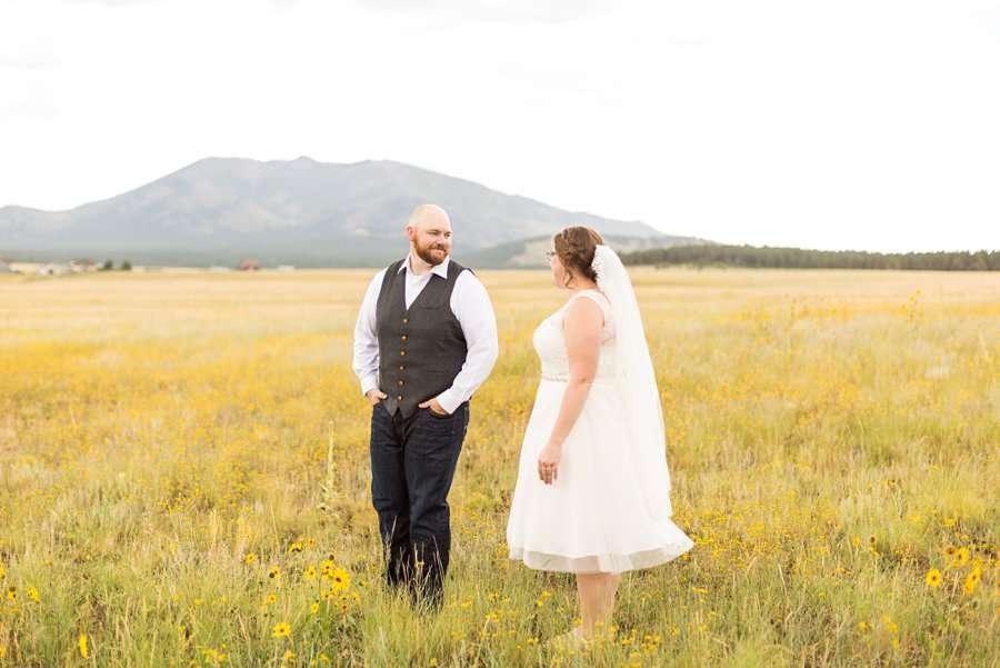 Katie and Mark - Northern Arizona Elopement Photography - 9