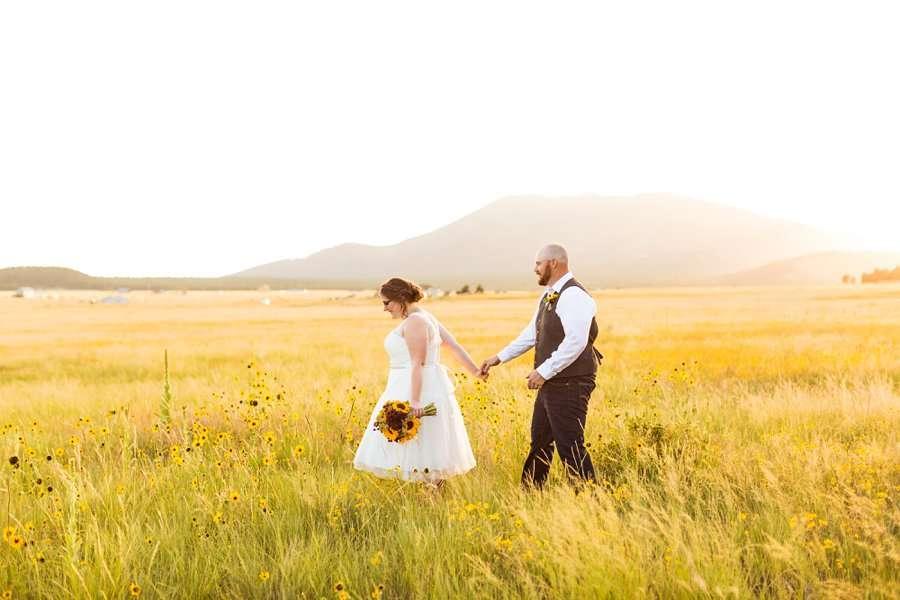 Katie and Mark - Northern Arizona Elopement Photography - 34