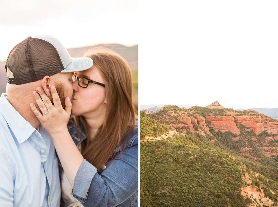 Katie and Mark - Sedona Engagement Photographers 2