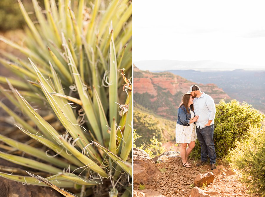 Katie and Mark - Sedona Engagement Photographers 3