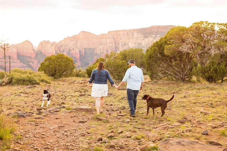 Katie and Mark - Sedona Engagement Photographers 15