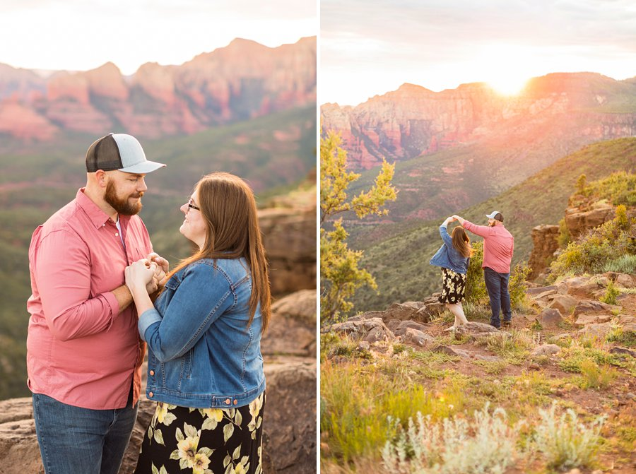 Katie and Mark - Flagstaff Couple Photography 14