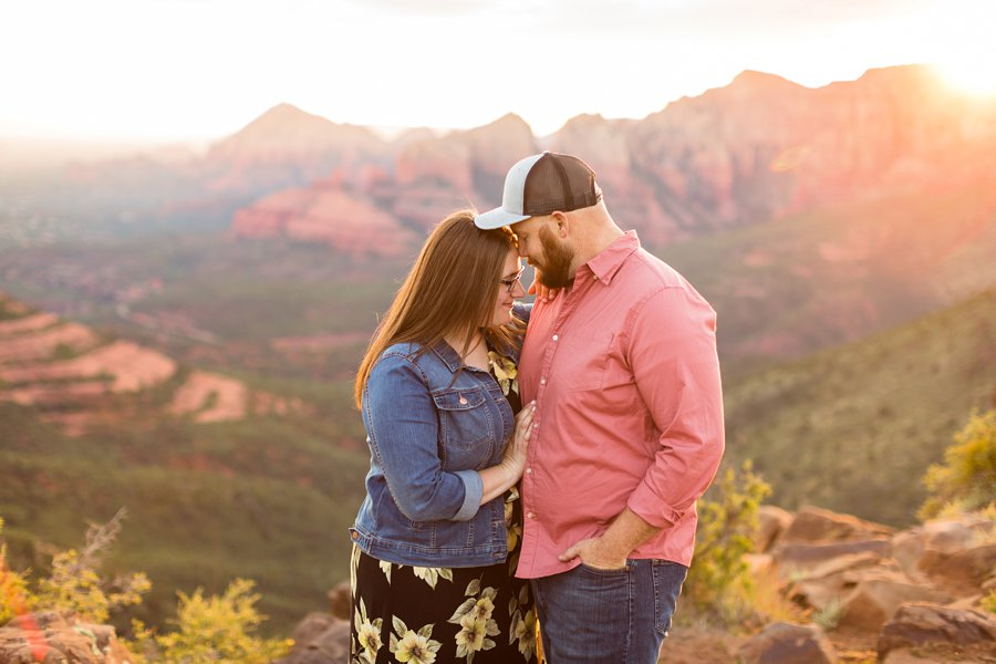 Katie and Mark - Flagstaff Couple Photography 16