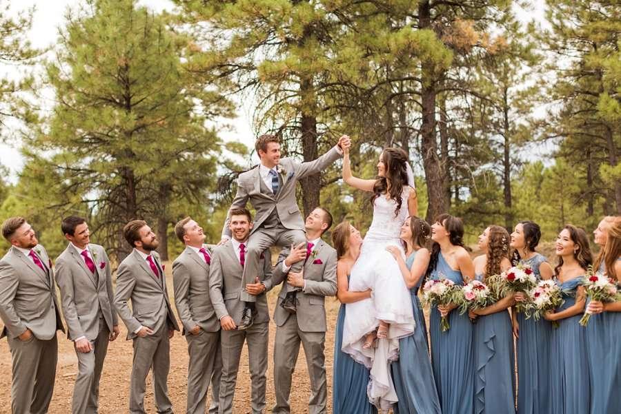 Kayla and Scott: Northern Arizona Wedding Photography 023