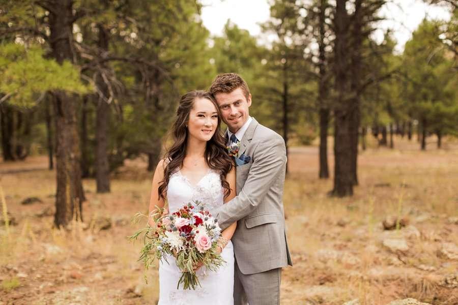 Kayla and Scott: Northern Arizona Wedding Photography 033