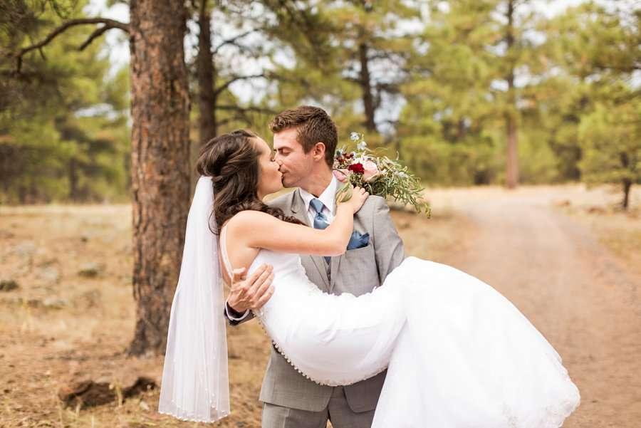 Kayla and Scott: Northern Arizona Wedding Photography 029