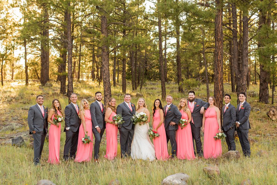Kelcy and Gavin - Northern Arizona Wedding Photographers 09