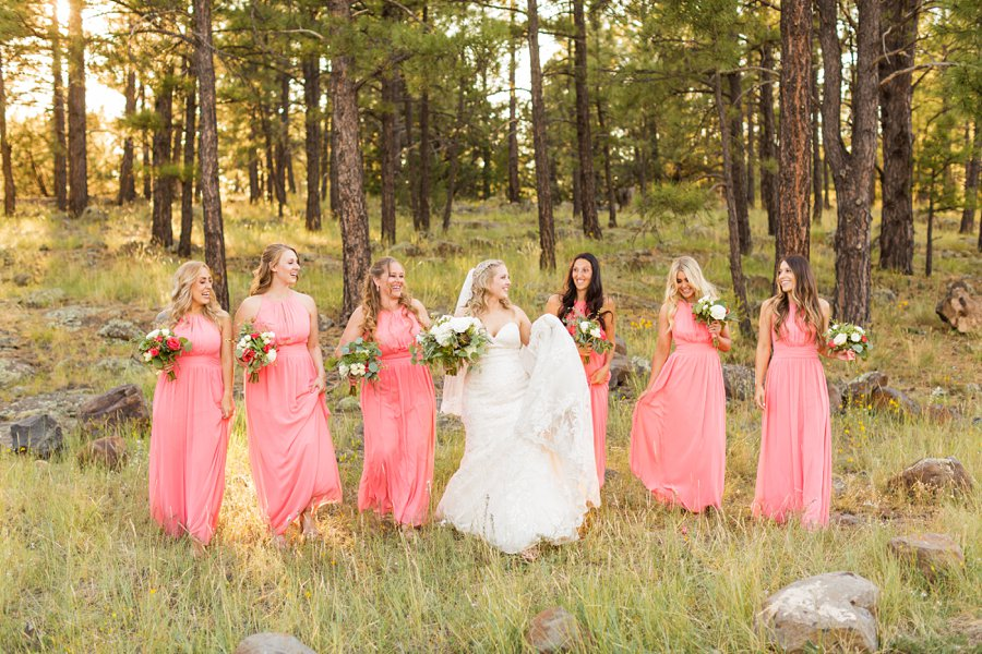 Kelcy and Gavin - Northern Arizona Wedding Photographers 015