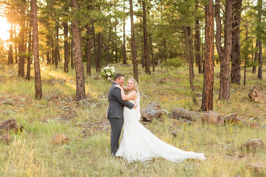 Kelcy and Gavin - Northern Arizona Wedding Photographers 020