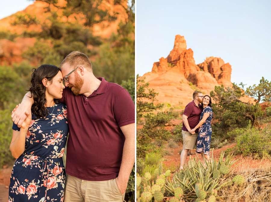 Melisa and Michael - Sedona Engagement Photography 1