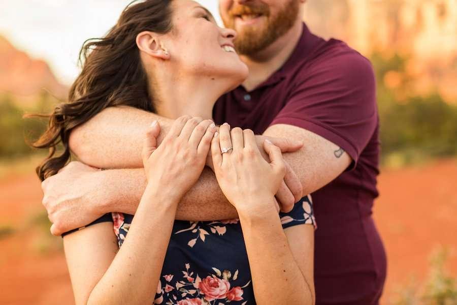 Arizona Portrait Photographer – Melisa and Michael