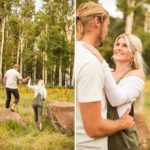 Miranda and Quinton: Northern AZ Engagement Photographer