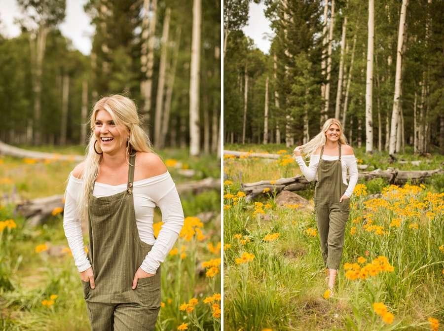 Flagstaff Arizona Portrait Wildflower Photography -Miranda and Quinton 7