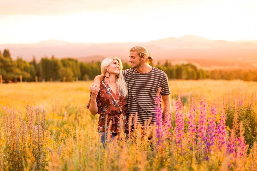 Miranda and Quinton- Northern AZ Engagement Photographer