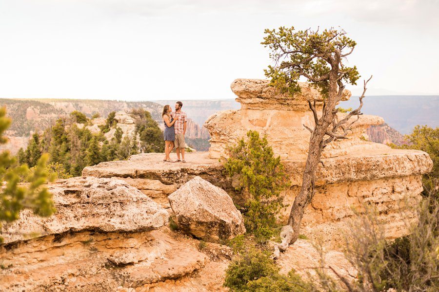 Natalia and Sean - Grand Canyon National Park Engagement Photographers 4