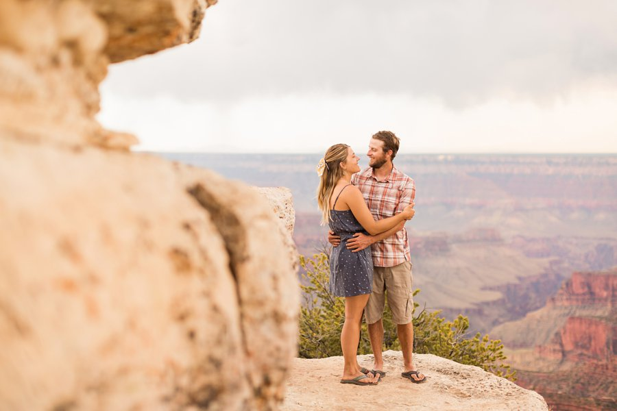 Natalia and Sean - Grand Canyon National Park Engagement Photographers 1