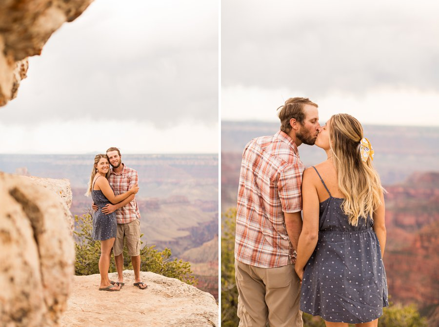 Natalia and Sean - Grand Canyon National Park Engagement Photographers 9