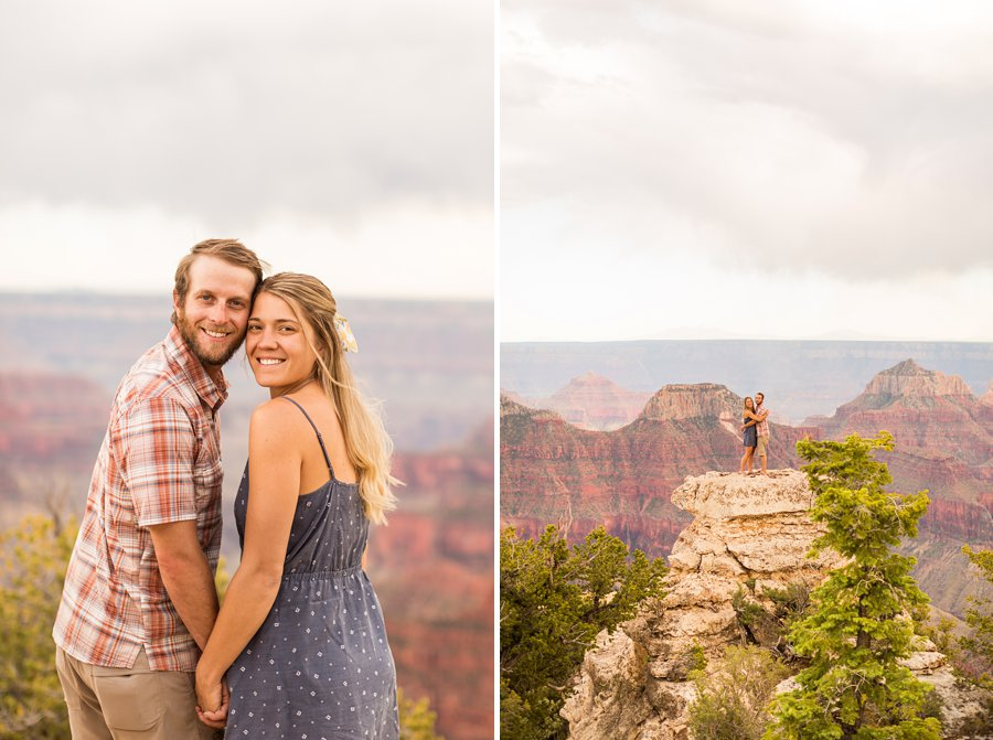 Natalia and Sean - Grand Canyon National Park Engagement Photographers 7
