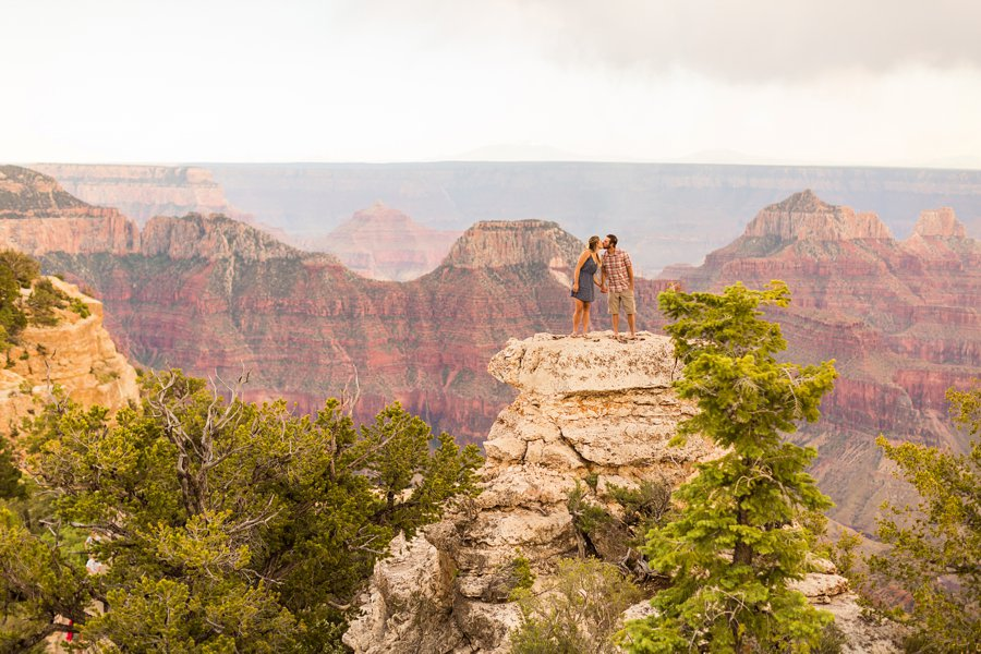 Natalia and Sean - Grand Canyon National Park Engagement Photographers 2