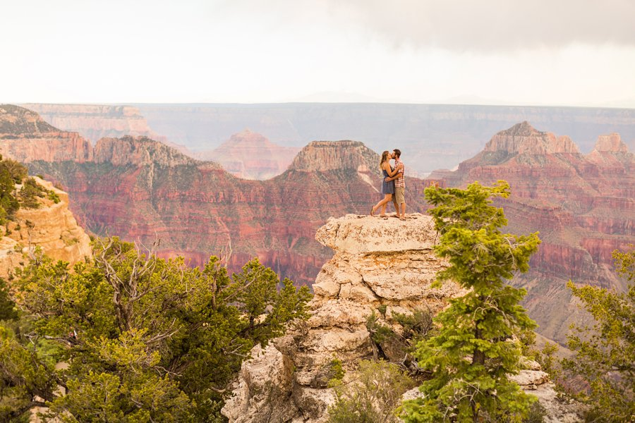 Natalia and Sean - Grand Canyon National Park Engagement Photographers 3