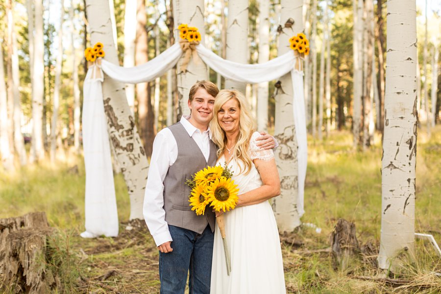Tina and Justin - Flagstaff and Sedona Wedding Photography -19