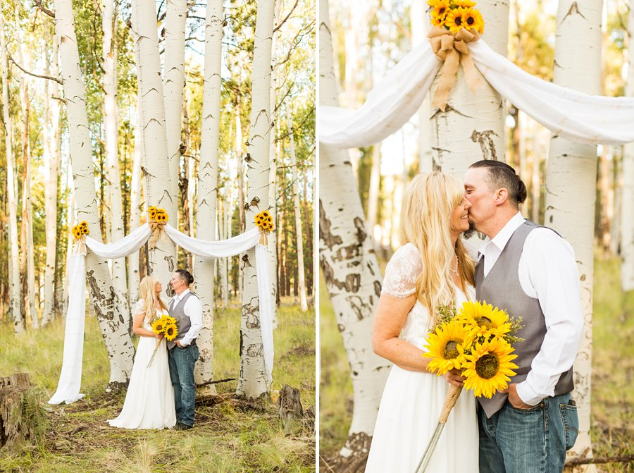 Tina and Justin - Flagstaff and Sedona Wedding Photography -17
