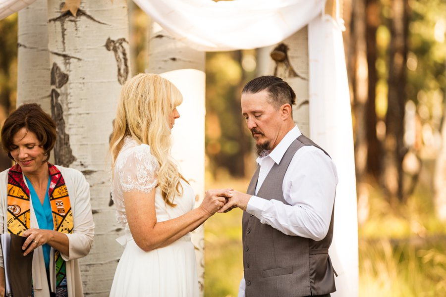 Tina and Justin - Flagstaff and Sedona Wedding Photography -16