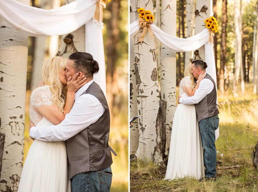 Tina and Justin - Flagstaff and Sedona Wedding Photography -112