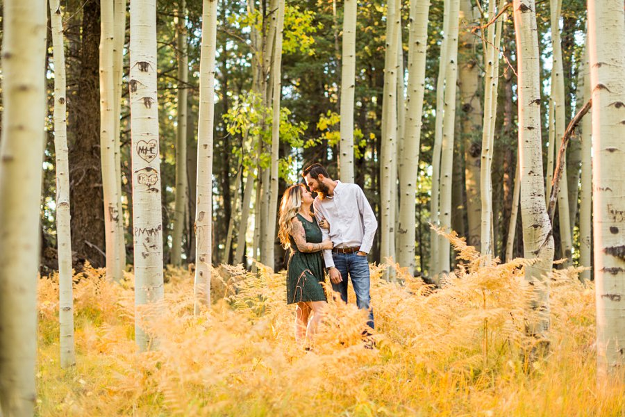 Amanda and Dakota: Aspen Corner Flagstaff Photographer 3