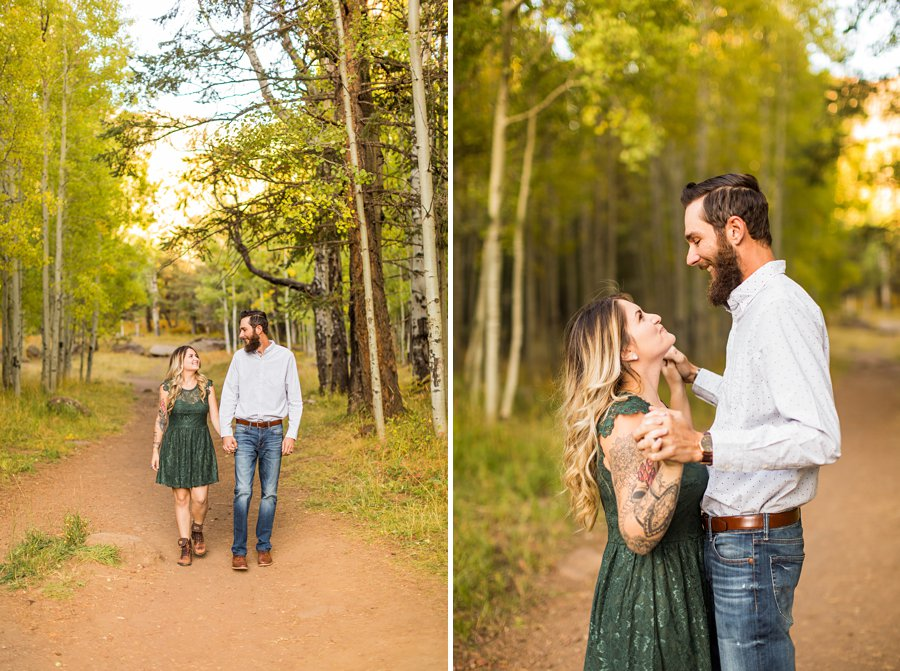 Amanda and Dakota: Aspen Corner Flagstaff Photographer 4