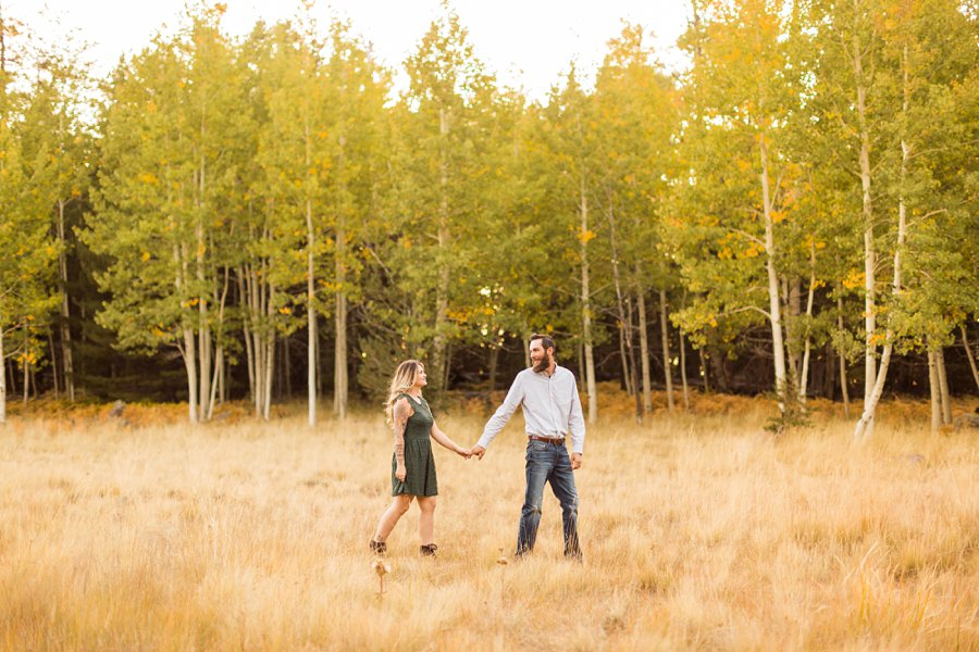 Fall Northern Arizona Photography: Amanda and Dakota 5