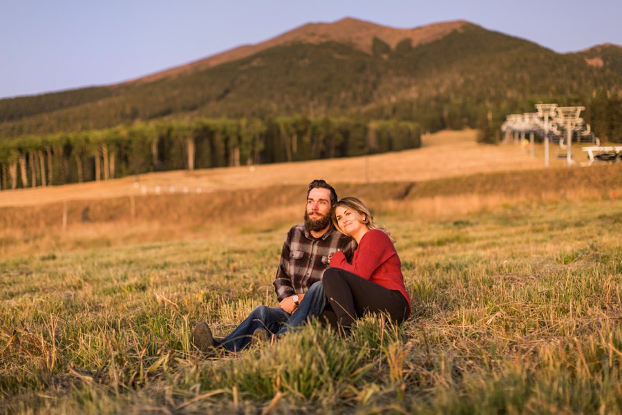 Fall Northern Arizona Photography: Amanda and Dakota 10