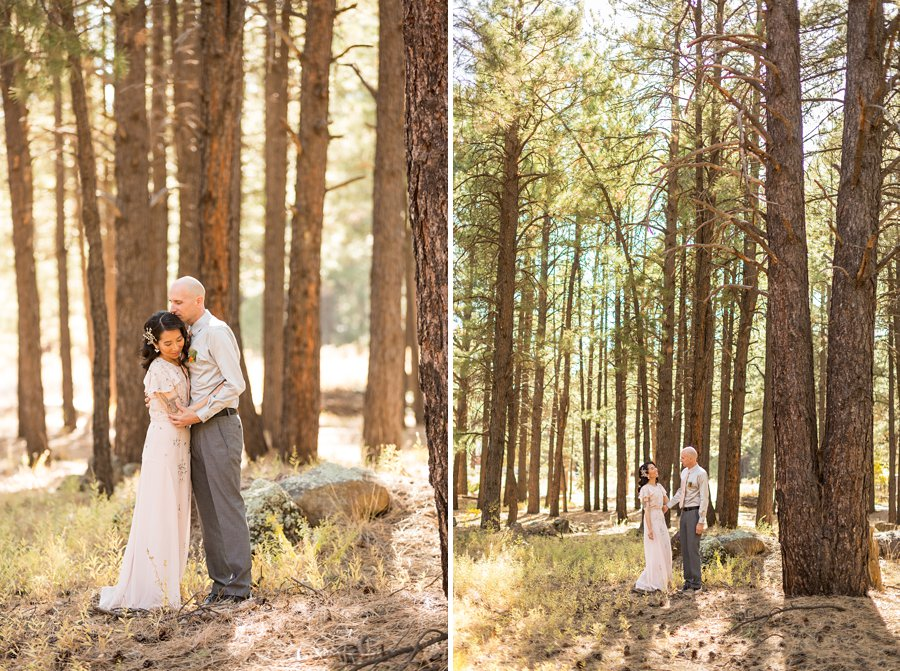 Becca and Tim: Flagstaff Arizona Wedding Photographer 017