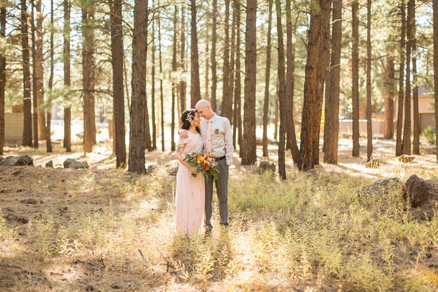 Becca and Tim: Thornagers Flagstaff Elopement Photography 03