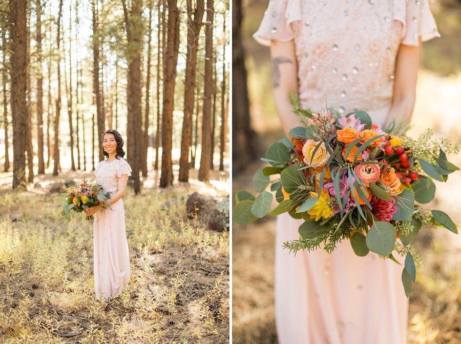Becca and Tim: Thornagers Flagstaff Elopement Photography 0